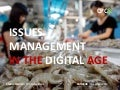 Issues Management In The Digital Age