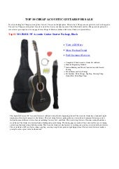 Cheap acoustic-guitars-for-sale