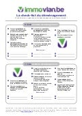 Checklist déménagement Immovlan.be
