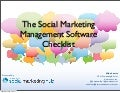 Social Media Marketing Software Checklist