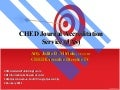 CHED Journal Accreditation Service (JAS) by  Atty. Julito D. Vitriolo