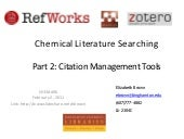 Chem 496 2 2 11 session 2 a
