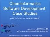 Cheminformatics Software Developmen...