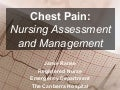 Chest pain: nursing assessment and management