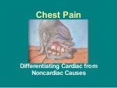 Chest pain 2009 ppt