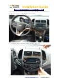 Chevrolet aveo dvd player gps navigation installation guide