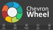 Chevron Wheel Editable PowerPoint