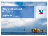 'Chevron Corp- UBS Global Oil & Gas...