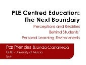 PLE-Centered Education: The Next Bo...