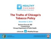 Truths of Chicago's Tobacco Policy