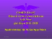Chien luoc dan so 2011 2020 - yteco...