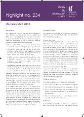 Childcare Act 2006