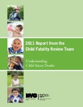 Child fatality report 2011