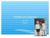 SDS220R - Childhood Obesity