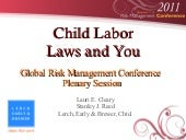 Child Labor laws and You at Global ...