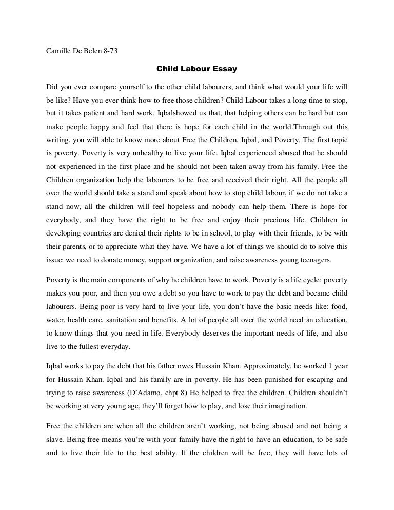 essay about child labor essay on child labor as a crime essay on child labor as a crime