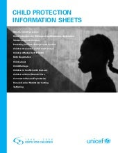 Child protection information sheets