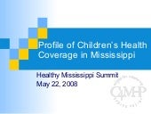 Childrens Coverage Healthy Ms Summi...