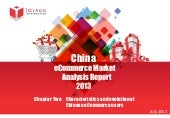 China eCommerce Market Analysis Rep...