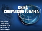 China Vs. NAFTA Presentation August 1