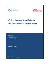 China drives the future of automotive innovation