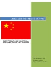 China  Economic Miracle Or Myth  Bi...