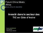 china meet africa presentation COTE...