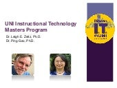 UNI Instructional Technology Master...