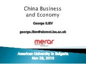 China Presentation   George ILIEV  ...