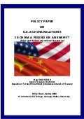 U.S.A-China Relations, Is China A Friend Or An Enemy?