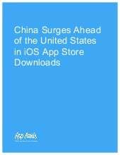 China Surpasses United States by iOS Downloads