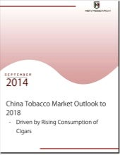 Market size of China Tobacco market, China cigarettes market - Industry Report