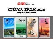 China Trek Info Session Presentation