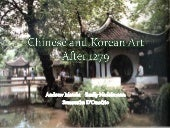 Chinese And Korean Art After 1279 E...
