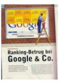 Chip - Ranking-Betrug bei Google & Co.