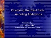 Choosing the Best Path - Youth Gamb...