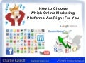 Choosing an Internet Marketing Platform