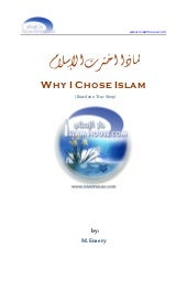 Choosing Islam as Religion
