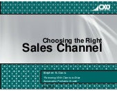 Choosing The Right Sales Strategy