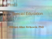 Chp[1]. 3 Special Education - Dr. W...