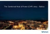 The Combined Heat & Power (CHP) sto...