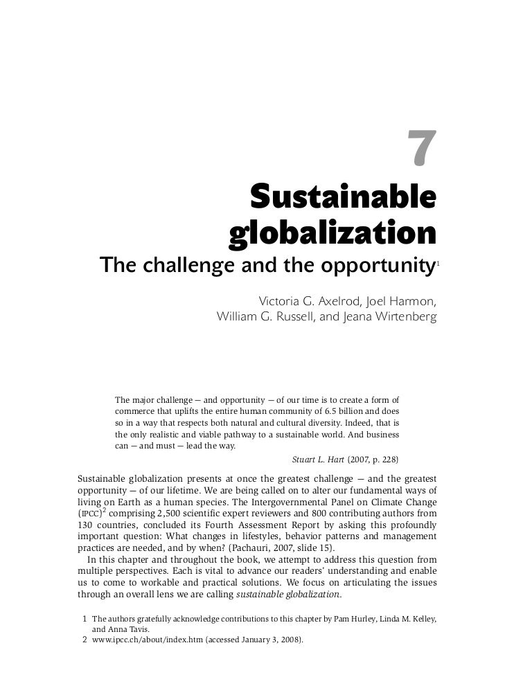the impact of globalisation on singapore essay Bis papers no 23 263 the impact of globalisation on the formulation and implementation of monetary policy in singapore ong chong tee1 1 introduction.