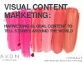Visual Content Strategy: Harnessing Global Content to Tell Stories Around the World  - BDI 4/10 Visual Content Marketing & Communications Summit