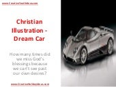 Christian Illustration - Dream Car