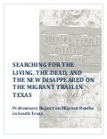 Preliminary Report on Migrant Deaths in South Texas