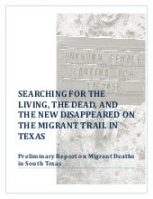 Preliminary Report on Migrant Death...