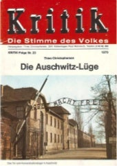 Christophersen Thies. Die Auschwitz...