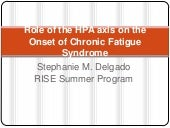 Role of the HPA axis on the Onset o...