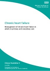 Chronic heart failure nice guidelines
