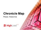 Chronicle Map